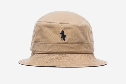 Logo-Embroidered Bucket Hat