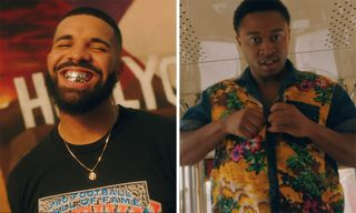 "Drake Recruits Shiggy for the Official ""In My Feelings"" Video"
