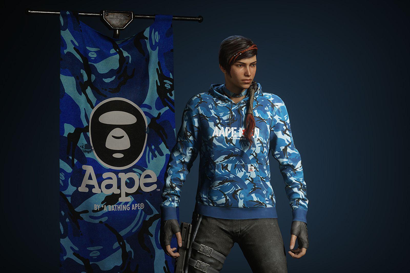 gears 5 aape bathing ape streetwear gaming interview Gears of War microsoft xbox