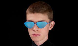 """Balenciaga's SS19 """"Invisible"""" Sunglasses Are Inspired by Prescription Lenses"""