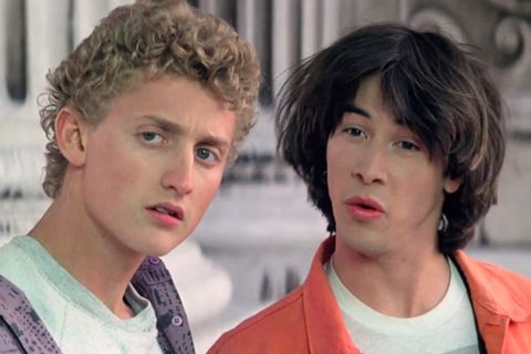 bill ted 3 confirmed Bill & Ted Face the Music Bill and Ted's Excellent Adventure keanu reeves