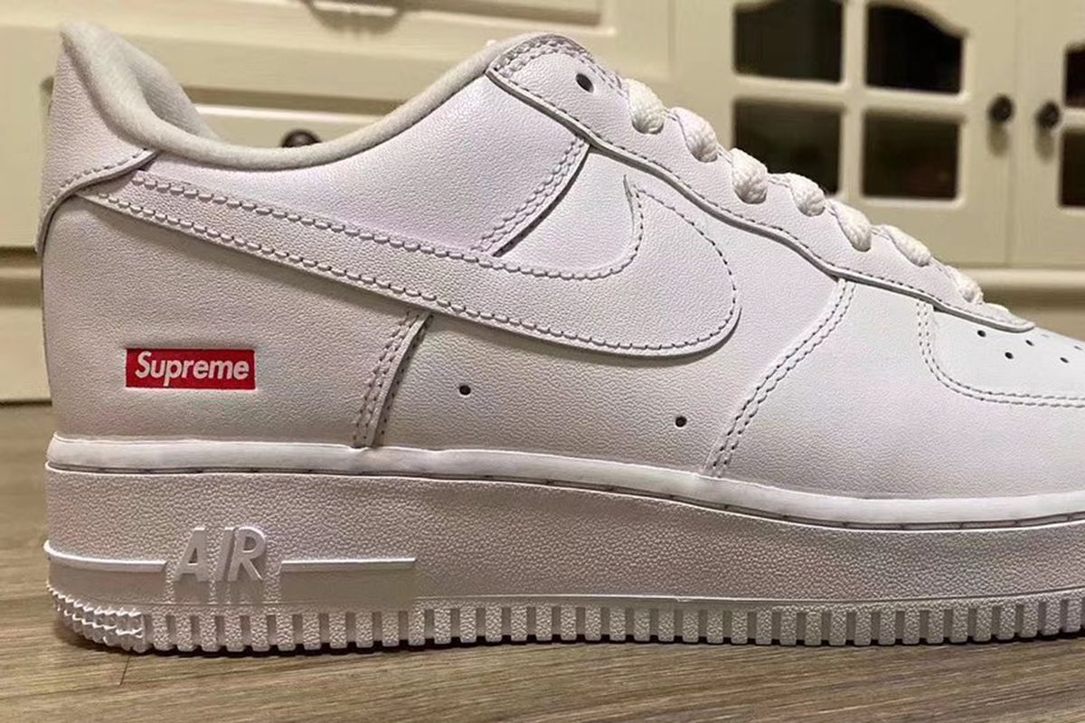 Is This Our First Look at the Supreme x Nike Air Force 1 Low 2020?