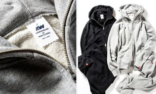 LOOPWHEELER x WHIZ Limited Unite for Premium Tracksuit Collection