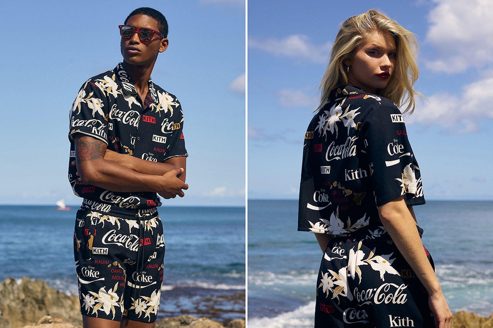 kith coca cola hawaii collection ronnie fieg
