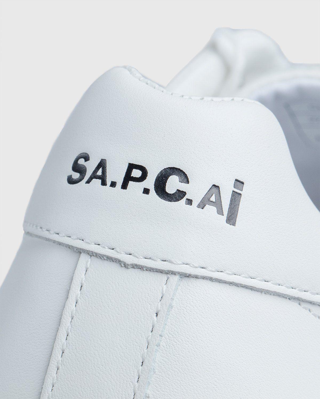 A.P.C. x Sacai — Minimal Sneaker White - Image 7