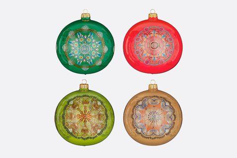 Set Of 4 Christmas Ornaments