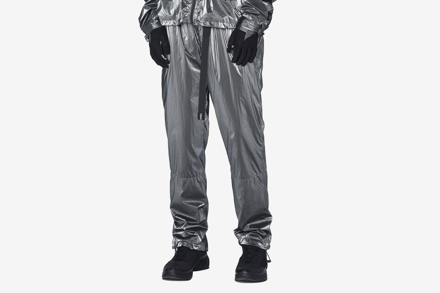 """Post Human Era"" STAI Buckle Track Pants"