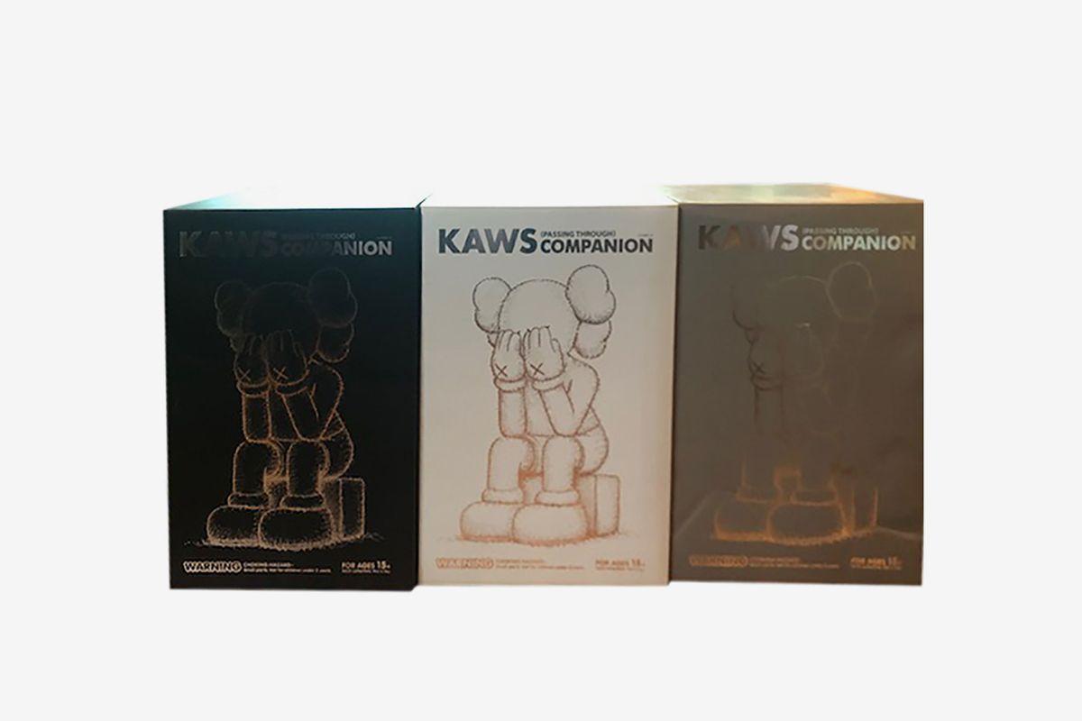 Companion: Passing Through (Set of Three), 2013