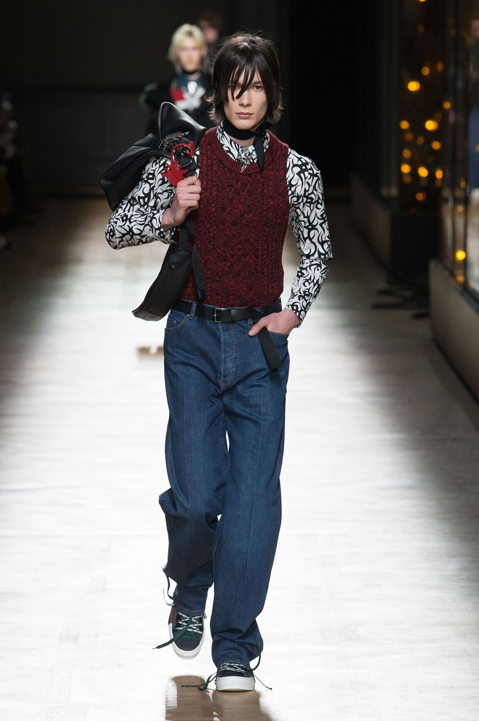 DIOR HOMME WINTER 18 19 BY PATRICE STABLE look20 Fall/WInter 2018 runway