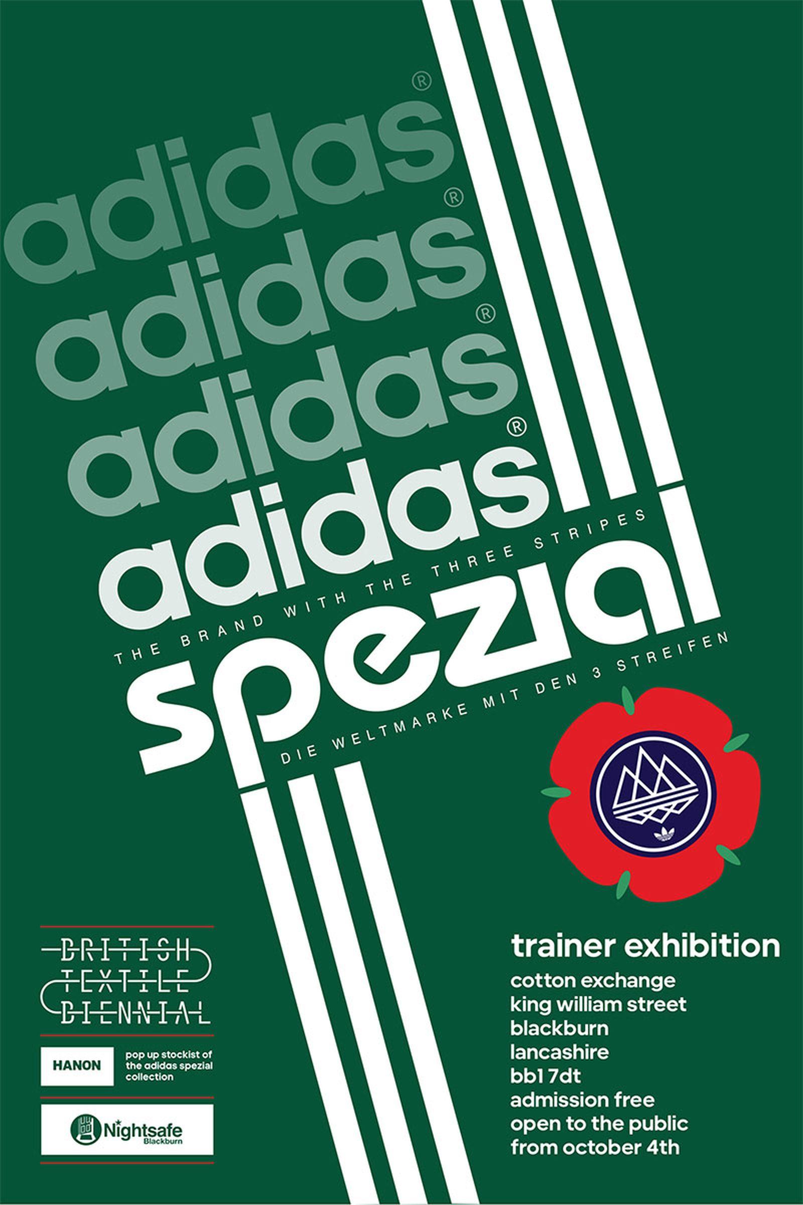 adidas blackburn spezial exhibition flyer