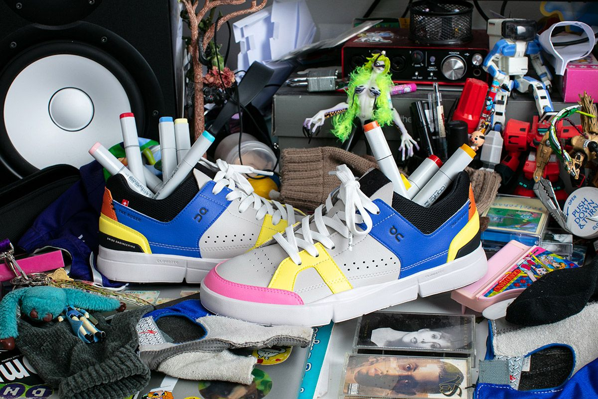 Meet the Artist Imagining ON's New ROGER Clubhouse Sneaker as a Person 24