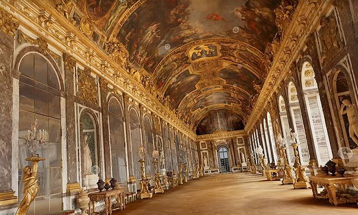 google free vr palace of versailles tour google arts & cutlure