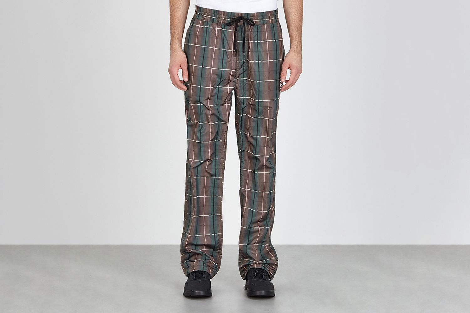 Wonder Checked Shell Sweatpants
