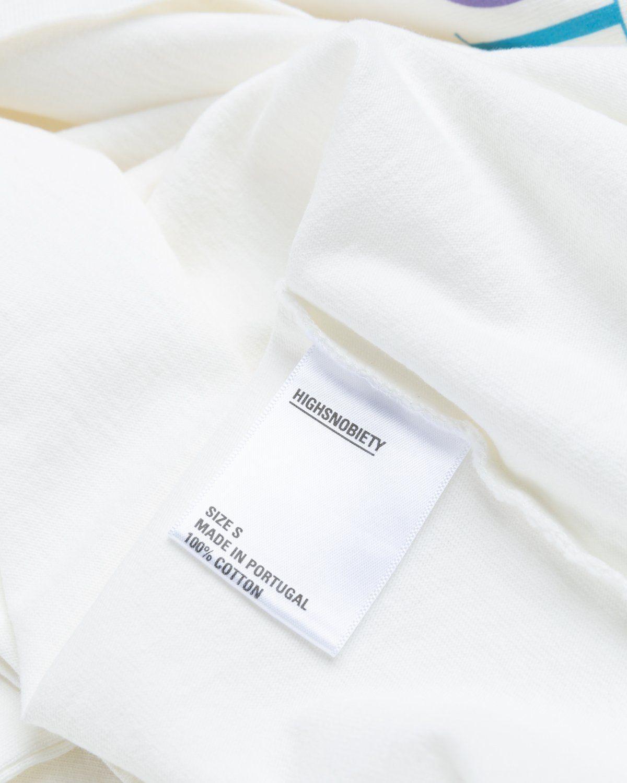 Highsnobiety – Rainbow T-Shirt White - Image 5