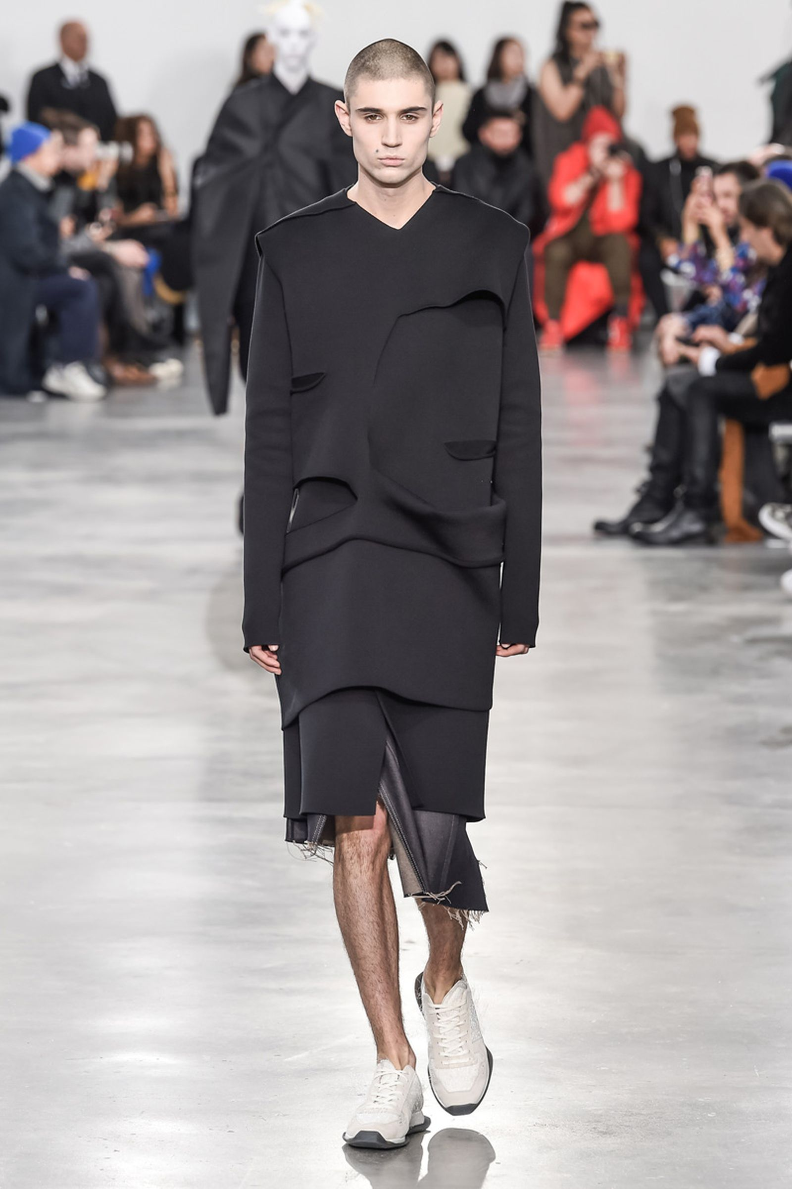 Rick Owens Menswear Fall Winter 2018 Collection Paris Fashion Week runway