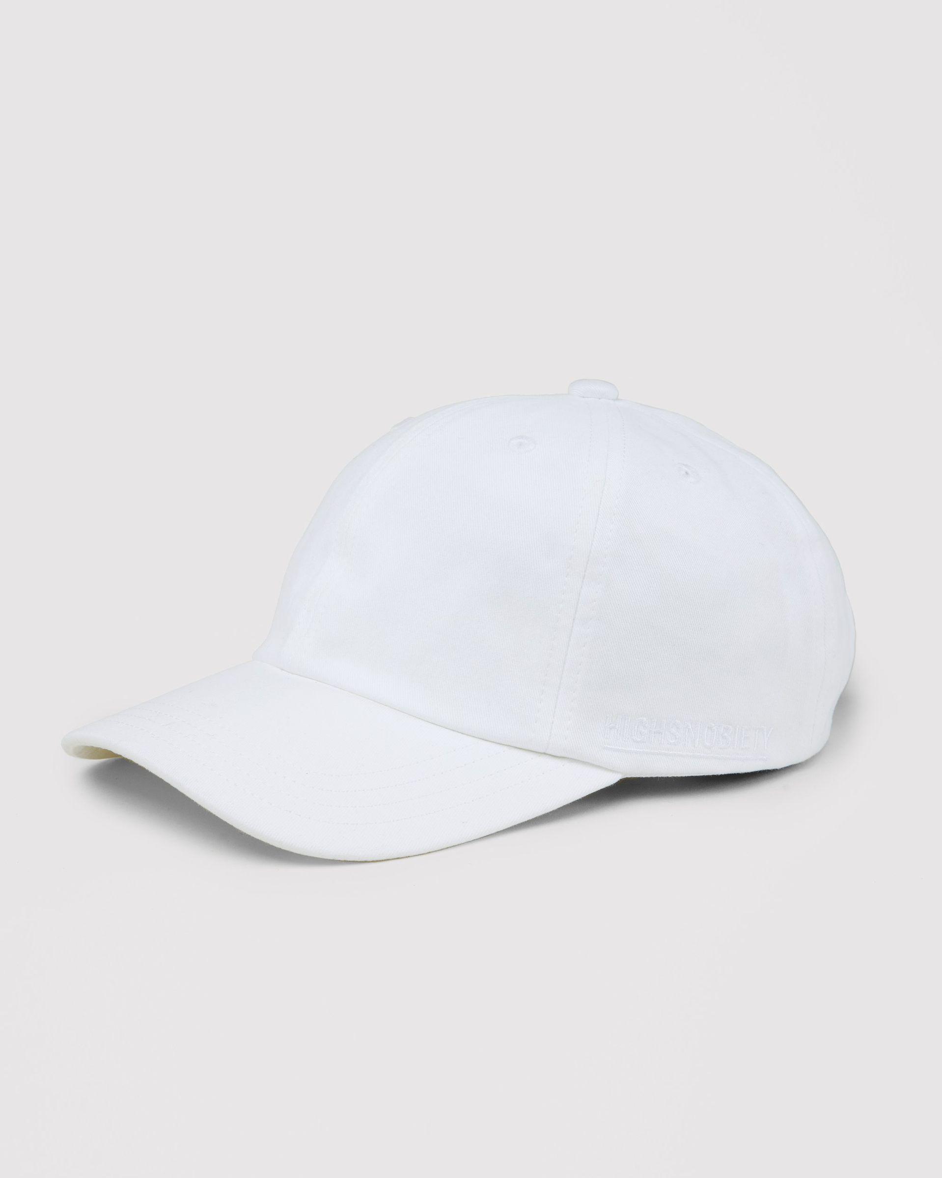 Highsnobiety Staples - Cap White - Image 1