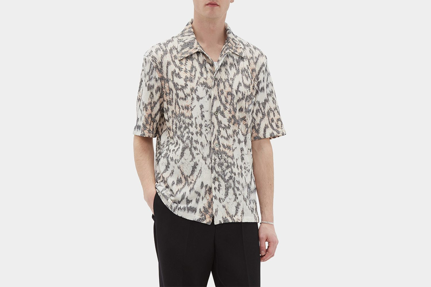 Box Tiger-Print Shirt