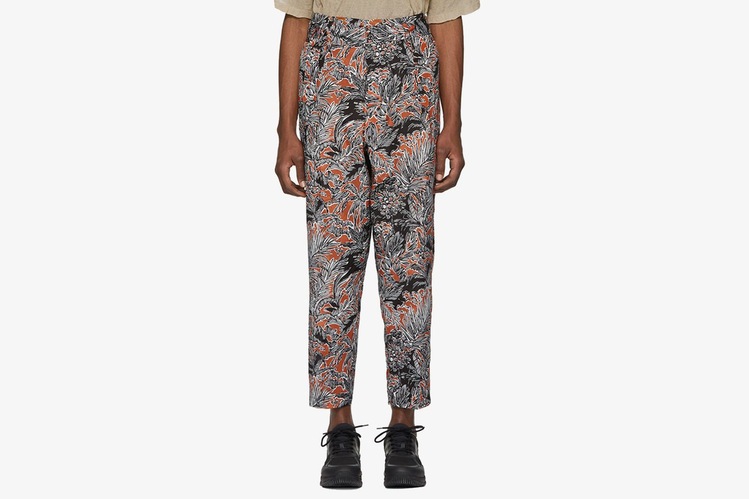 Floral Palm Tree Trousers