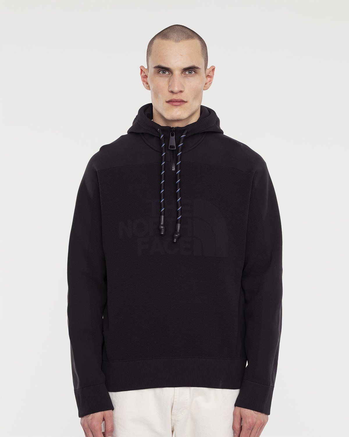 The North Face Black Series - Engineered Knit Hoodie Black - Image 2