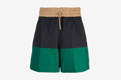 Colour Block Shorts