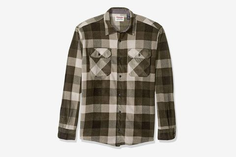 Heavyweight Plaid Fleece Shirt