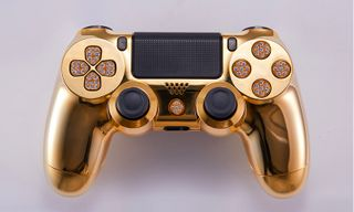 This $14,000 Gold PlayStation 4 Controller is the Ultimate Gaming Flex
