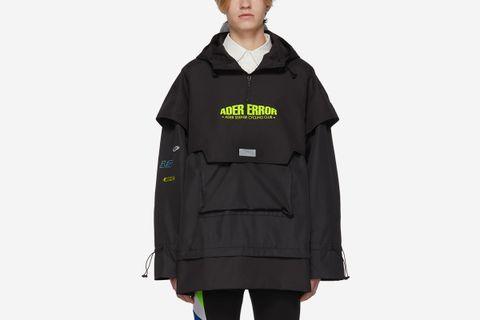ASCC Oversized Layered Anorak Jacket