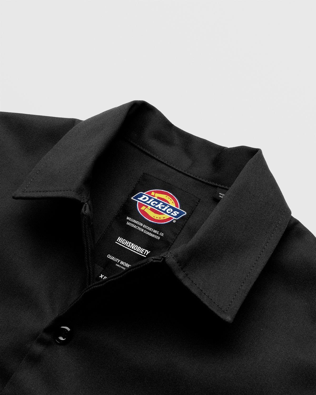 Highsnobiety x Dickies – Service Shirt Black - Image 3