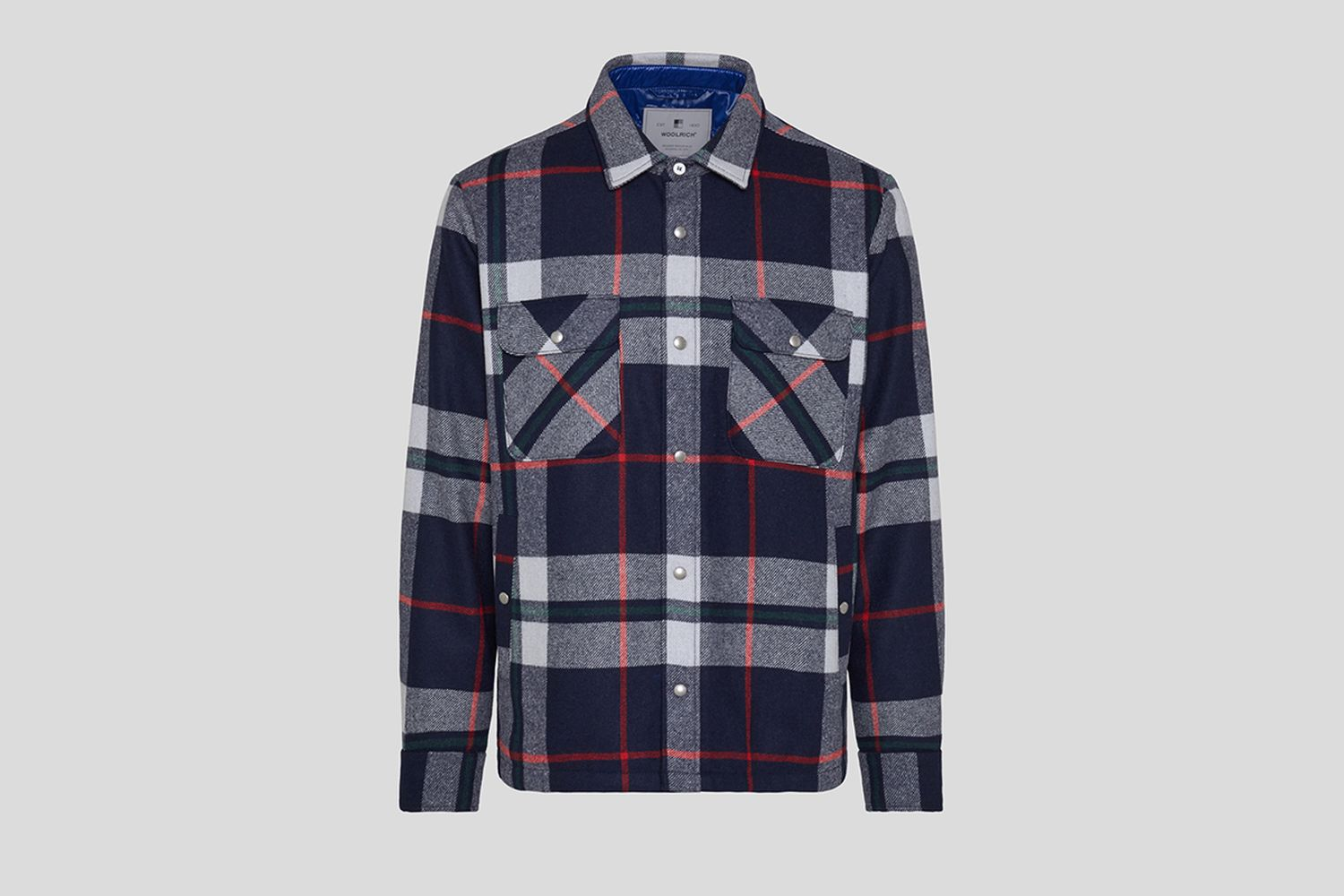Alaskan Quilted Over Shirt