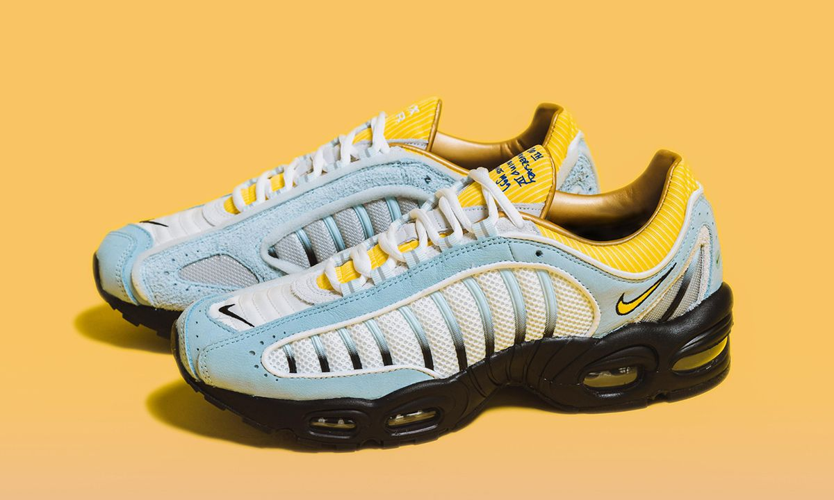 The NIKE AIR MAX TAILWIND IV finds the Tailwind retro