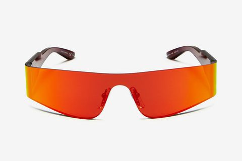 Wraparound Shield Sunglasses