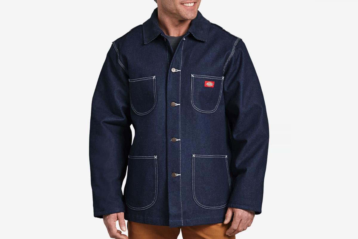 Denim Blanket Lined Chore Coat