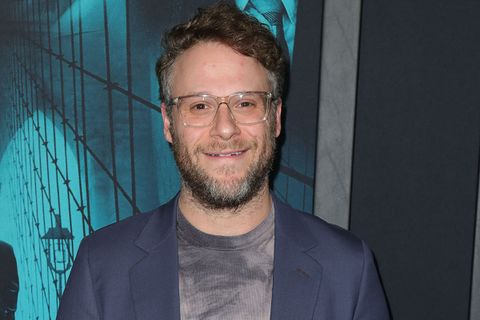 ": Seth Rogen attends the Premiere of Warner Bros Pictures' ""Motherless Brooklyn"""