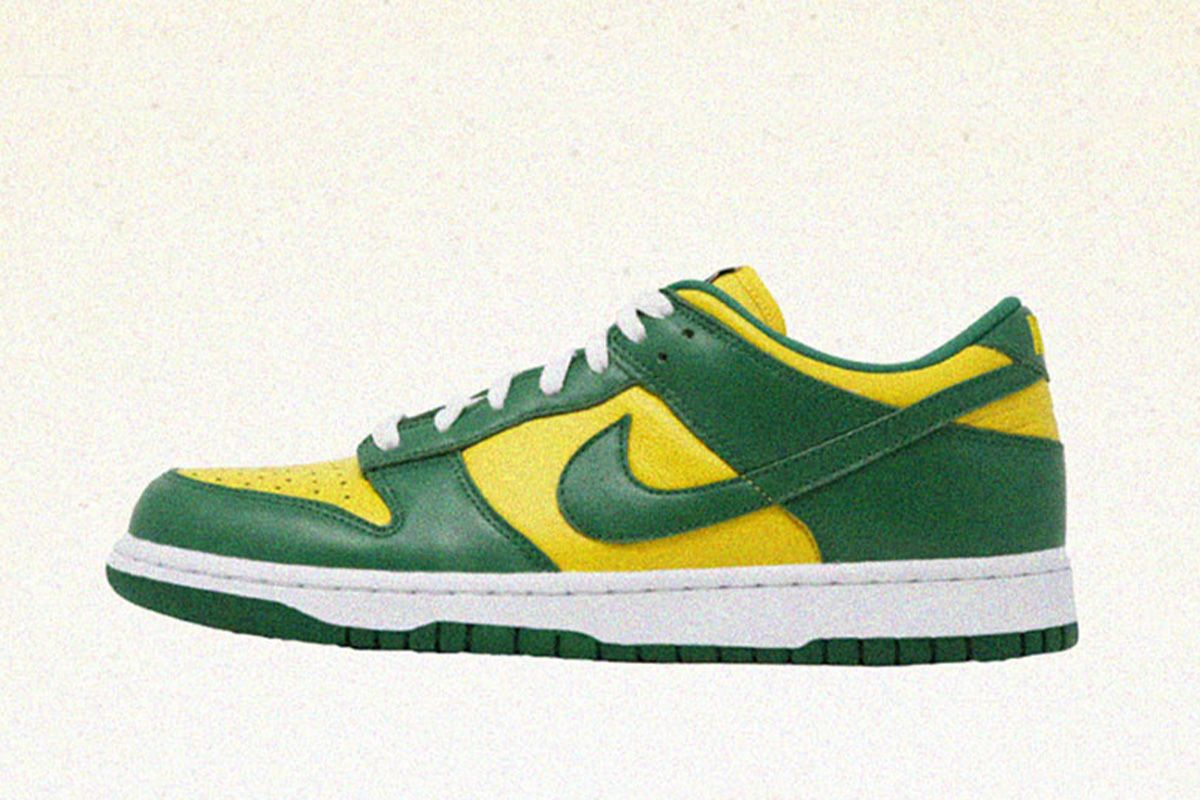"""Nike Dunk Low """"Brazil"""""""