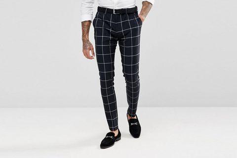 Skinny Suit Pants