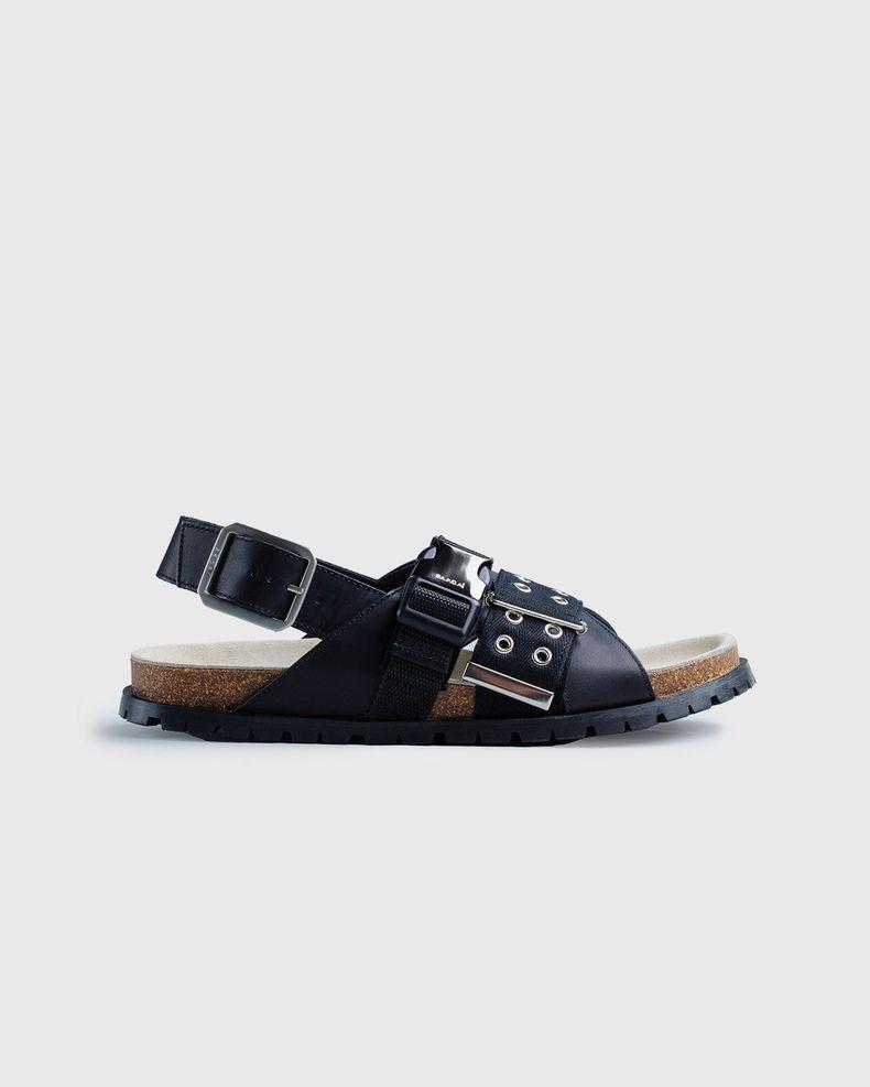 A.P.C. x Sacai — Sandals Black