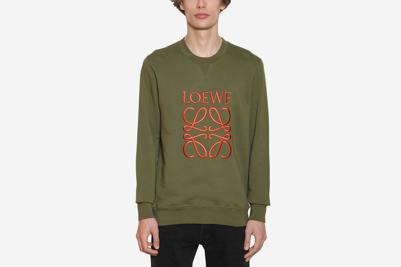 Embroidered Anagram Sweatshirt