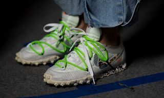 A Closer Look at the Footwear From OFF-WHITE's Track-Themed SS19 Show