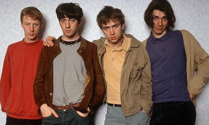 brit pop feature Stone Island blur burberry