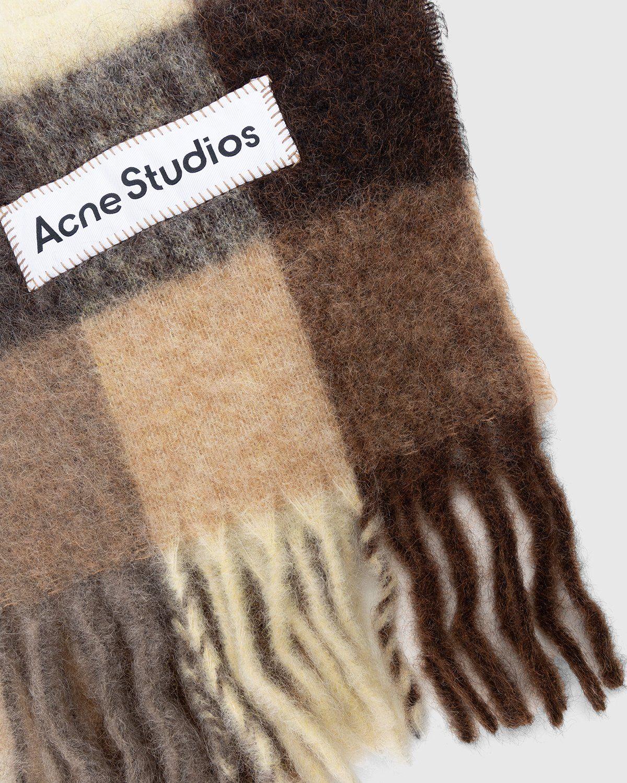 Acne Studios – Valley Scarf Brown - Image 3