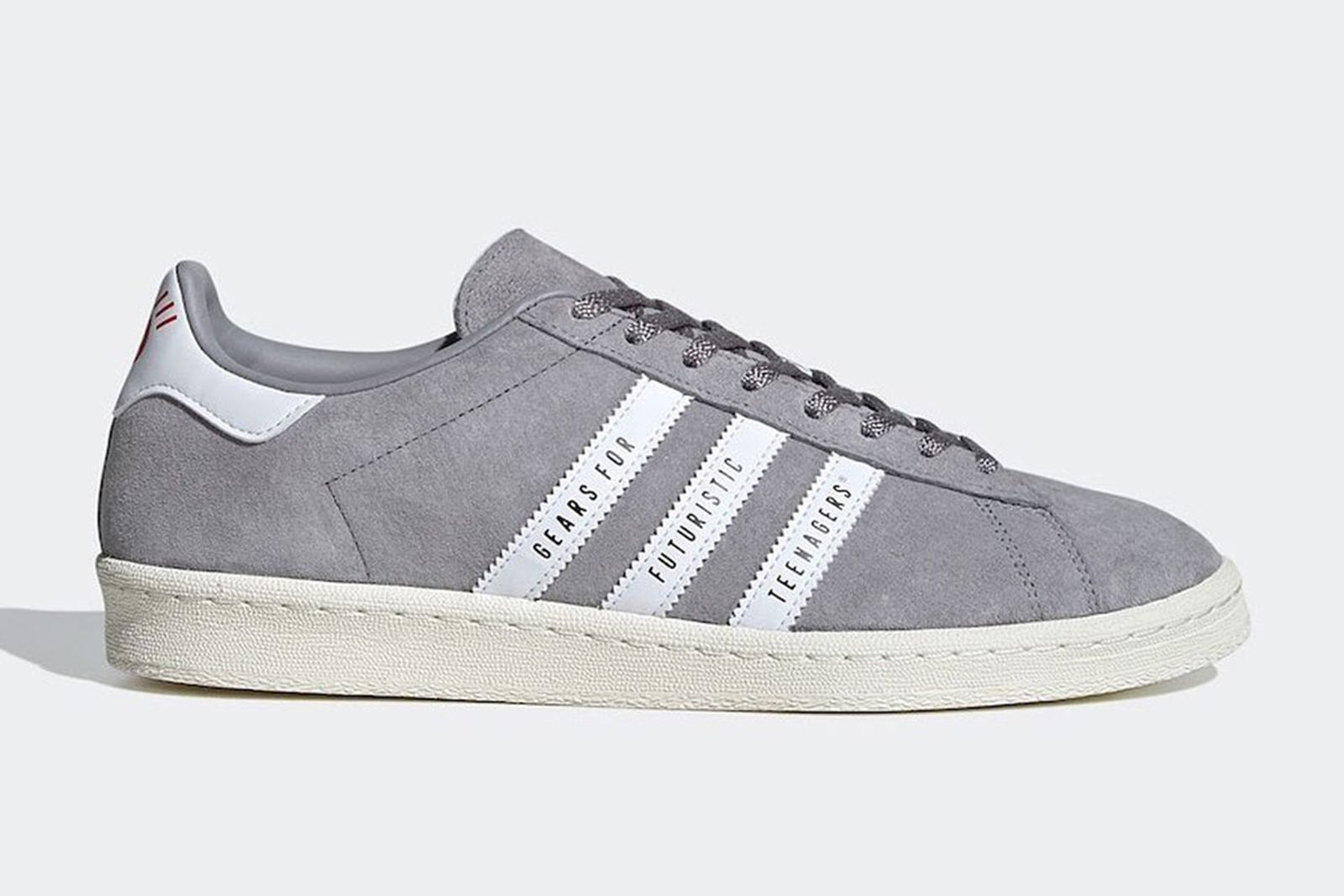 Human Made x adidas Campus in gery suede
