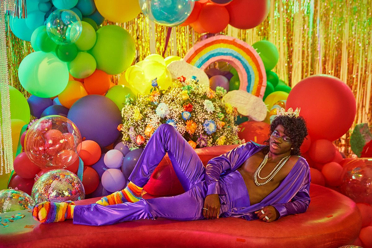 Lil Nas X in Rainbow Uggs Is the Pride Content We Need 7