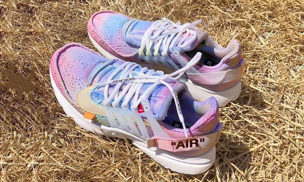 "new style dd667 766b0 Our Favorite OFF-WHITE x Nike Air Presto ""White  Customs"