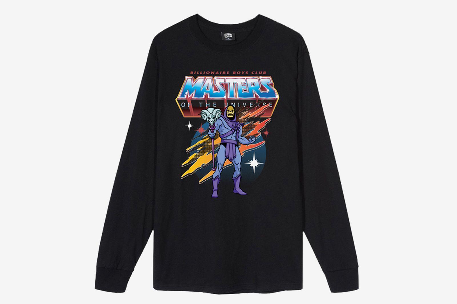 Billionaire Boys Club x Mattel's Spooky 'Master of the Universe' long sleeve black