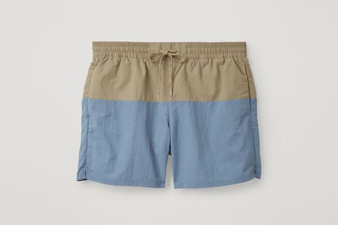 Colour-Block Swim Shorts