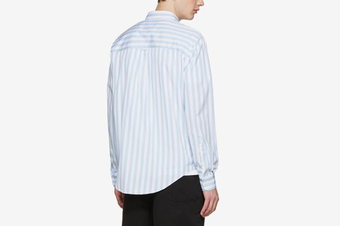 Striped Wide Shirt