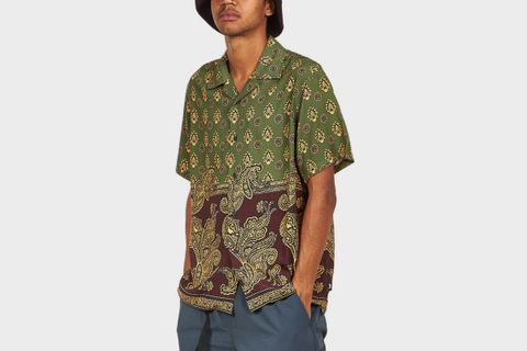 Block Paisley Shirt