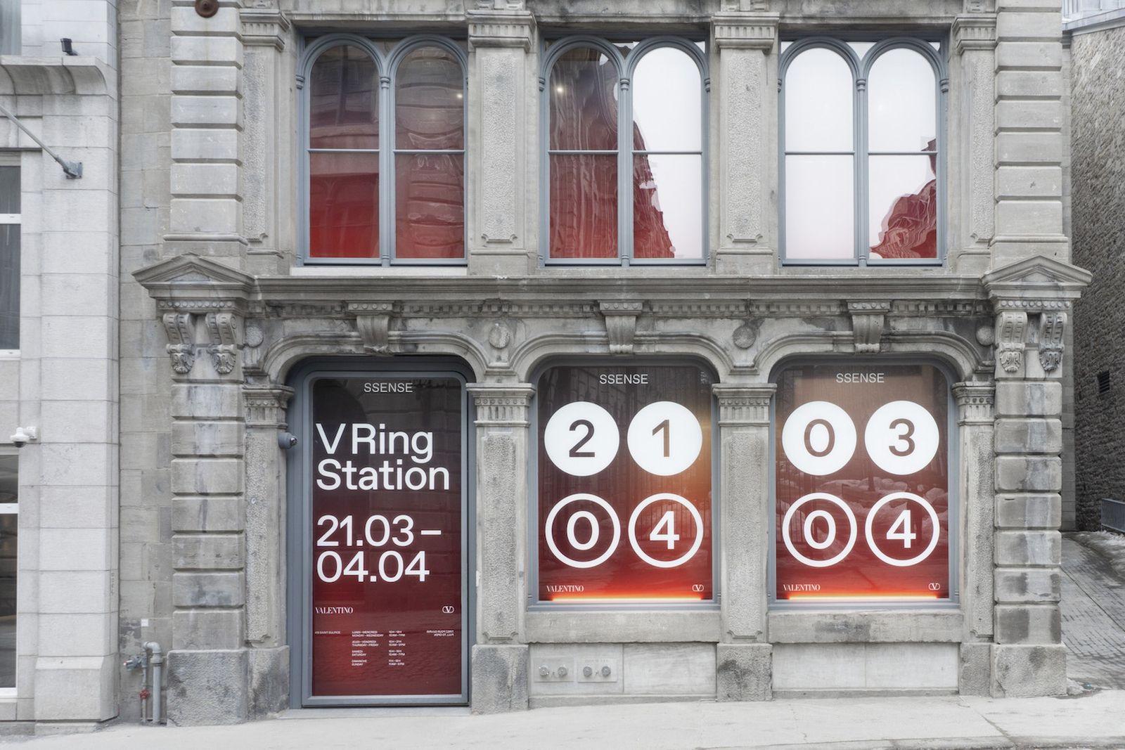 ssense valentino vring station pop up SSENSE Montreal