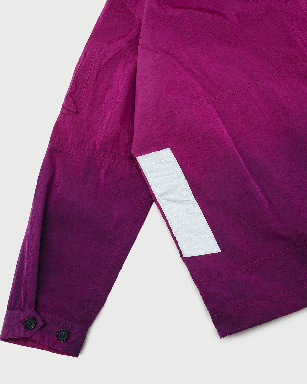 Aries — Ombre Dyed Tech Jacket Fuchsia - Image 5