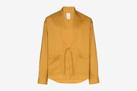 Lhamo Tie Front Shirt